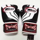 TWINS SPECIAL ボクシンググローブ 12oz Fs黒白 /ボクシング/ムエタイ/グローブ/キック/フィットネス/本革製/ツインズ/大人用/オンス