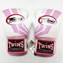 TWINS SPECIAL ボクシンググローブ 10oz Fs白桃 /ボクシング/ムエタイ/グローブ/キック/フィットネス/本革製/ツインズ/大人用/オンス