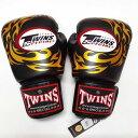 TWINS SPECIAL ボクシンググローブ 10oz T龍黒 /ボクシング/ムエタイ/グローブ/キック/フィットネス/本革製/ツインズ/大人用/オンス