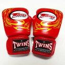 TWINS SPECIAL ボクシンググローブ 8oz T龍赤 /ボクシング/ムエタイ/グローブ/キック/フィットネス/本革製/ツインズ/大人用/オンス