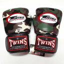 TWINS SPECIAL ボクシンググローブ 16oz 迷彩緑 /ボクシング/ムエタイ/グローブ/キック/フィットネス/本革製/ツインズ/大人用/オンス