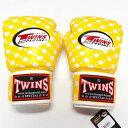 TWINS SPECIAL ボクシンググローブ 8oz 黄玉 /ボクシング/ムエタイ/グローブ/キック/フィットネス/本革製/ツインズ/大人用/8オンス
