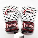 TWINS SPECIAL ボクシンググローブ 16oz 白玉 /ボクシング/ムエタイ/グローブ/キック/フィットネス/本革製/ツインズ/大人用/16オンス