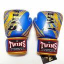 TWINS SPECIAL ボクシンググローブ 16oz TW青金 /ボクシング/ムエタイ/グローブ/キック/フィットネス/本革製/ツインズ/大人用/16オンス