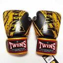 TWINS SPECIAL ボクシンググローブ 10oz TW黒金 /ボクシング/ムエタイ/グローブ/キック/フィットネス/本革製/ツインズ/大人用/10オンス