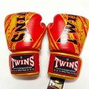 TWINS SPECIAL ボクシンググローブ 14oz TW赤金 /ボクシング/ムエタイ/グローブ/キック/フィットネス/本革製/ツインズ/大人用/14オンス