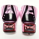 TWINS SPECIAL ボクシンググローブ 16oz TW桃黒SP /ボクシング/ムエタイ/グローブ/キック/フィットネス/本革製/ツインズ/大人用/16オンス