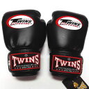 子供用 TWINS SPECIAL ボクシンググローブ 黒 /ボクシング/ムエタイ/グローブ/キック/本革製/ツインズ/キッズ/ジュニア