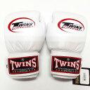 子供用 TWINS SPECIAL ボクシンググローブ 白 /ボクシング/ムエタイ/グローブ/キック/本革製/ツインズ/キッズ/ジュニア