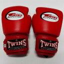 子供用 TWINS SPECIAL ボクシンググローブ 赤 /ボクシング/ムエタイ/グローブ/キック/本革製/ツインズ/キッズ/ジュニア