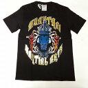 Tシャツ 黒 ライオン ボクシング ムエタイ/キックボクシング/大人用/インナー/トレーニング