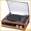 ≪送料無料≫レコードプレーヤーシステム RDP-B200Nレコードプレーヤー レコード プレーヤー オーム電機