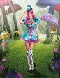 送料無料 Dream girl(ドリームガール) 不思議の国のアリス マッドハッター いかれ帽子屋コスチューム (レディース衣装 コスプレ用) アリスインワンダーランド 大人用ドレス ハロウィンのコスチューム 仮装グッズ DG-8962