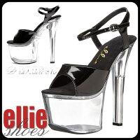 EllieShoes/711-Flirt-C-BLK