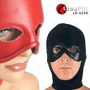 コスプレ用 全頭マスク かぶりもの 黒 ビジュアル系 パンクロック系 パーティーグッズ ライブ 衣装