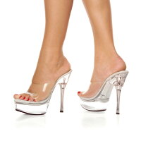 Pleaser/ALLURE-601-CLR-CLR