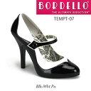 BORDELLO 2トーンストラップ付きハイヒールパンプス PL-Tempt-07 ◆取り寄せ