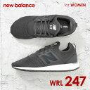 ニューバランス New Balance WRL247 レディース シューズ スニーカー ランニングシューズ NB ブランド ランニング 22cm 22.5cm 23cm 23.5cm 24cm 25cm 25.5cm ウィメンズ ブラック ホワイト グレー クラシック Classic 2017 新色 小さいサイズ 大きいサイズ ニューバラ