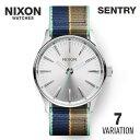 ニクソン NIXON SENTRY セントリー ユニセックス レディース メンズ 時計 腕時計 【カジュアル スケーター ストリート ファッション ブランド アメリカ ニクソン】 とけい ウォッチ A105 A377 A426 A450 リボンベルト レザー ステンレス 2017 NIXON