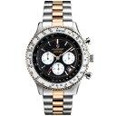 ギオネ GUIONNET フライトタイマー パイロットクロノグラフ メンズ 時計 腕時計 PG-FT42PSBK デキるおしゃれ男が選ぶ本格パイロット・クロノグラフ FT42 フライトタイマー【ブランド】 とけい ウォッチ