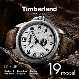 ティンバーランド Timberland メンズ 時計 腕時計 【ストリート アウトドア カジュアル ブランド アメリカ】 とけい ウォッチ Leyden bolton Warner Berkshire Bartlett Holliston 14768JS 14770JS 14770JSBU 14810JS 14815JS 14844JS 14862JS