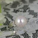 アコヤ真珠9.0mm珠リング【Pt900】【アコヤ真珠・パール】