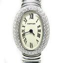 カルティエ レディース腕時計 ミニ ベニュワール WG【Cartier・クォーツ・ウォッチ】【カード・代引き決済不可】【中古】【RCP】【質屋出店】
