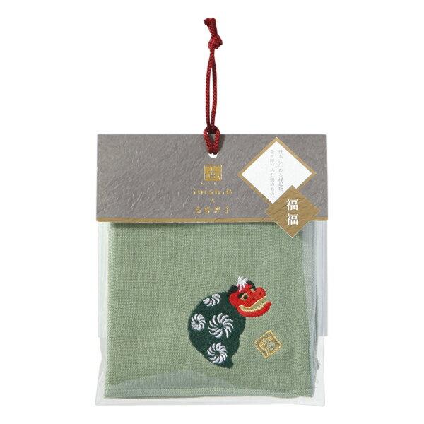 (SALE)いにしへ福福 タオルハンカチ 獅子舞...の商品画像
