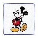 ショッピングハンカチ Disney(ディズニー)シェニールミッキー タオルハンカチ 約20×20cm ウチノ タオル【内野タオル】 ギフト対応 贈り物 プレゼント 入園グッズ 入園祝い