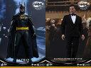 【ホットトイズ】MM#294『バットマン リターンズ』 1/6スケールフィギュア バットマン&ブルース・ウェイン(2体セット)
