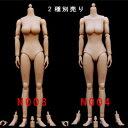 【(NoBrand)】N003 N004 1/6スケール 女性ボディ素体