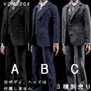 【VeryCool】VCM3004 A B C 1/6スケール 男性用スーツ