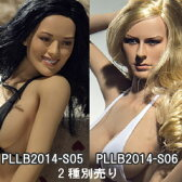 【Phicen】PLLB2014-S05 PLLB2014-S06 Super-Flexible Female Seamless body with Stainless Steel Skeleton in Tan/big bust size & in Suntan/big bust size 1/6スケール シームレス女性ボディ