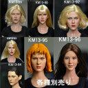 【Kumik】Head KM13-89 13-90 13-92 13-93 13-94 13-95 13-96 1/6スケール 女性ヘッド