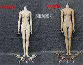 【JIAOUDOLL】002白 or 003黒 1:6 SEAMLESS FEMALEBODY 1/6スケール シームレス女性ボディフィギュア