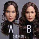 【GACTOYS】GC003 American beauty headsculpt 1/6スケール 植毛 女性ヘッド hk-2632