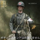 【AlertLine】AL100014 1/6 WW2 U.S.Army military surgeon Suit WW2アメリカ軍 1/6スケール男性コスチューム&男性ヘッド