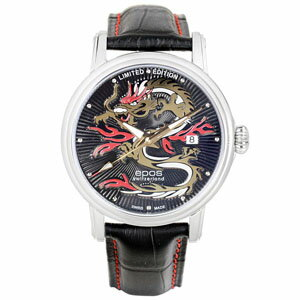 All world / 3390DRAGONM-LTD399 world limited 399 this EPOS interesting mens watch domestic genuine watch WATCH manufacturers warranty sales type P01Jul16