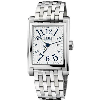 58376574061M rectangular date ホワイトダイヤルアラビック index ORIS Oris mens watch watch domestic genuine watch WATCH manufacturers with guaranteed sales type Christmas gifts fs3gm