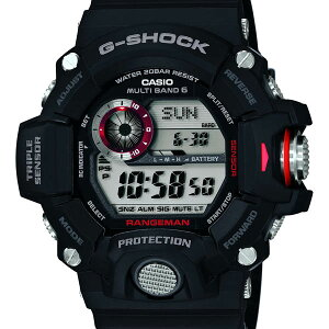GW-9400J-1JF【CASIO】カシオG-SHOCKGショック腕時計20気圧防水電波ソーラー世界6局国内正規品ウォッチWATCHメーカー保証付き販売種類メンズ【レア】