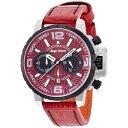 5年保証/NTC48SRE-RE エンジェルクローバー Angel Clover 腕時計 メンズ レッドコレクション タイムクラフト TIME CRAFT クロノグラフ新作 ポイント消化