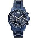 W0379G5 GUESS ゲス 腕時計 HORIZON ホライズン メンズ 青文字盤 ブルー 青