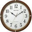 8MYA32SR06 CITIZEN CLOCK RHYYHM シチズンクロック リズム フィットウェーブライキー 掛時計国内正規品