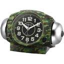8RA634SR05 CITIZEN CLOCK RHYYHM シチズンクロック リズム タフバトラー634 めざまし時計国内正規品
