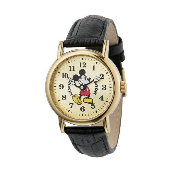 M30-03-IVBK Disny ディズニー MICKEY ミッキーマウス ミッキー 革ベルト レディース腕時計 送料無料 送料込 おしゃれ かわいい