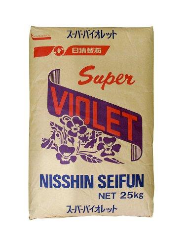 日清製粉 菓子用粉 スーパーバイオレット 25kgの商品画像