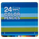 【数量限定大特価】トンボ色鉛筆 ippo! スライド缶 24...