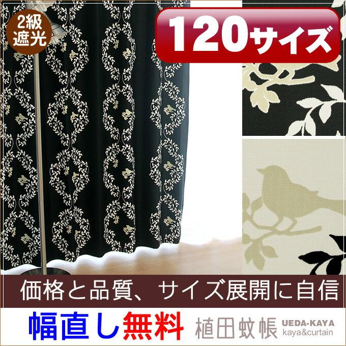 【オーダー商品】2級遮光カーテン(小鳥)幅〜10...の商品画像