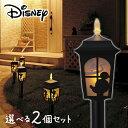 【送料無料】 ディズニー ソーラー シルエット ライト 2個セット / ミッキー プーさん ティンカーベル