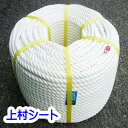 クレモナSロープ クレモナロープ 作業ロープ 汎用 直径20mm×長さ200m